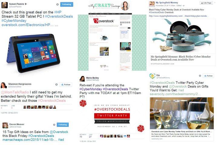 Overstock Social Media Campaign
