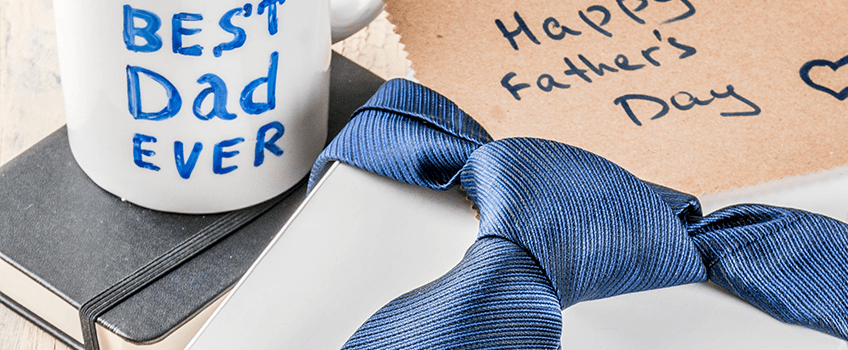 Happy Father's Day Tie as a Gift