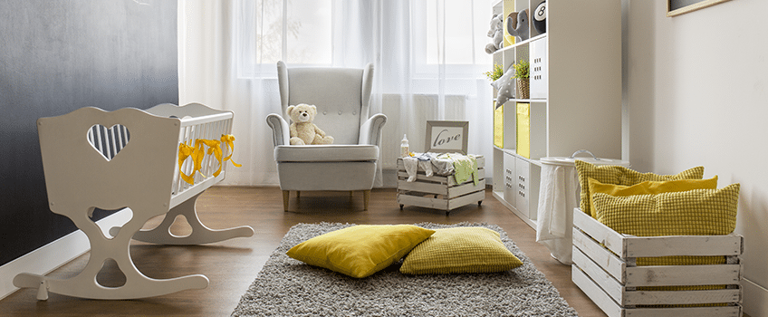 Gen Z Yellow Gender Neutral Nursery