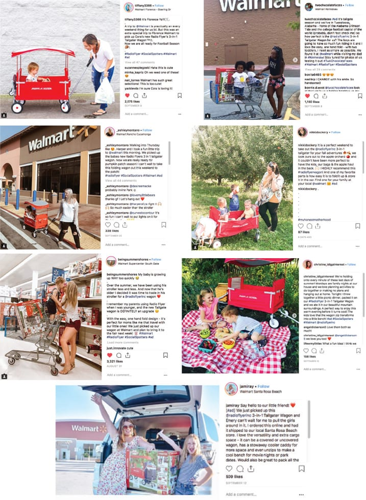 Radio Flyer Social Media Influencer Program