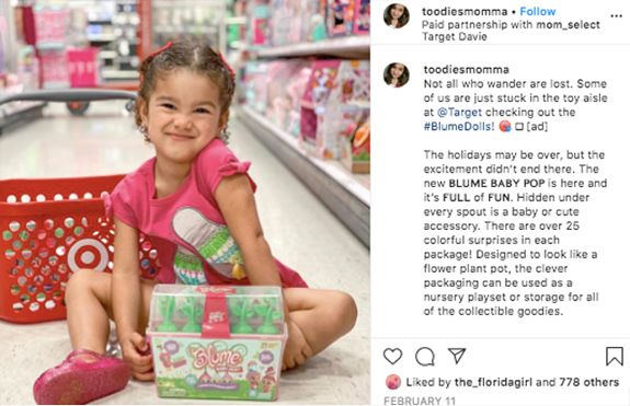 Child in Target Aisle