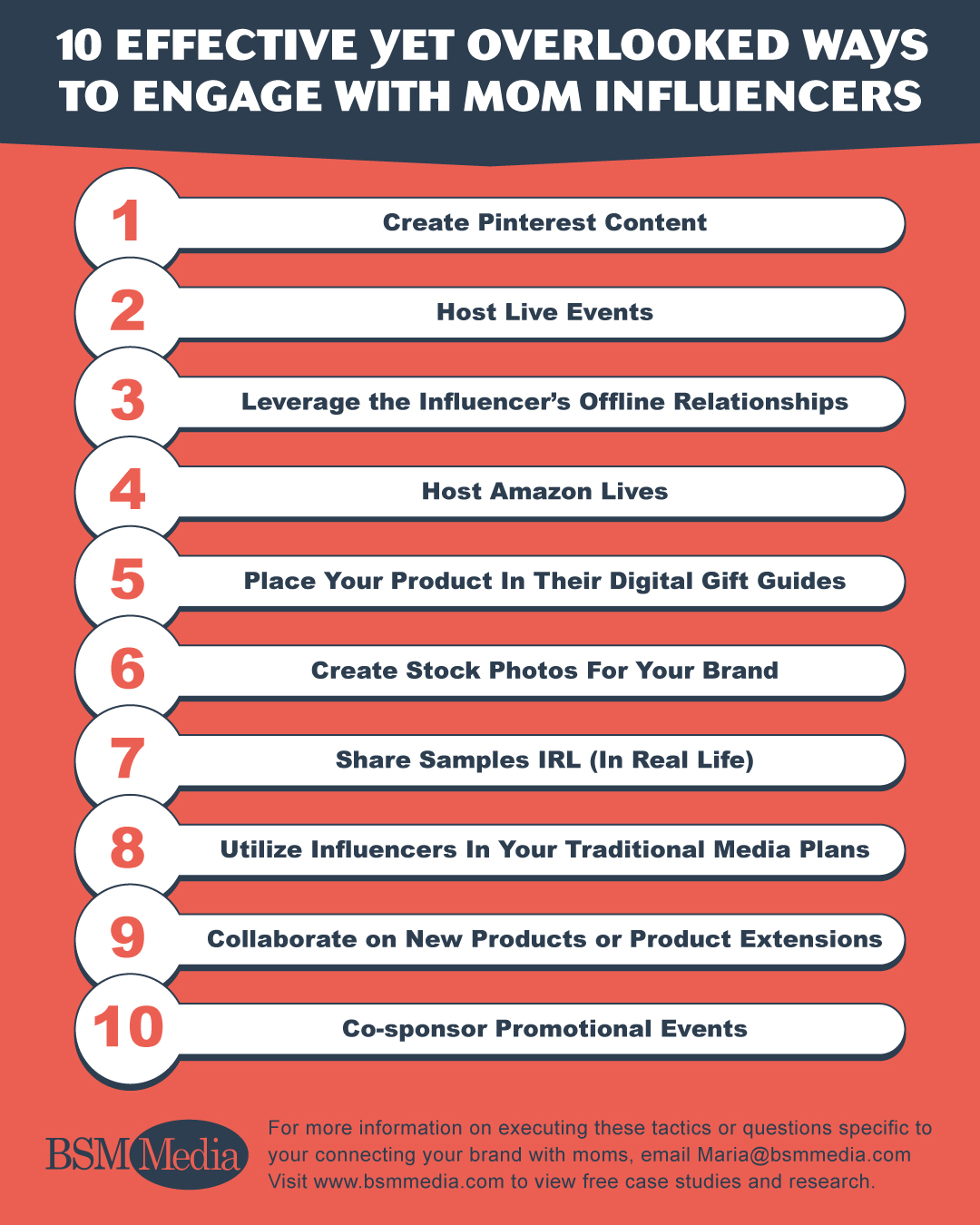 10 Ways To Engage Infographic